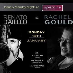 "Renato D'Aiello's ""Acoustic Jazz Lounge"" at Ronnie Scott's bar"