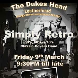Simply RETRO classic cover Band