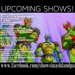 Shows In Ashland, PA