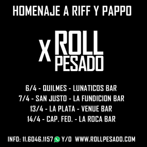 Homenaje a RIFF y PAPPO x ROLL PESADO