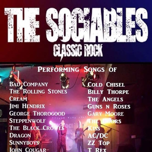 The Sociables Tribute to Classic Rock