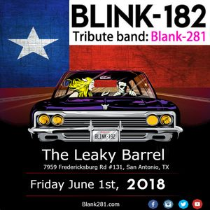Blink 182 Tribute Band: Blank 281