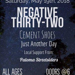 Negative Thirty-Two