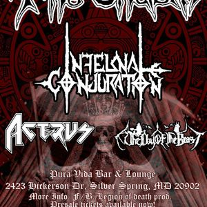 Bandsintown | Infernal Conjuration Tickets - Baltimore Sound Stage