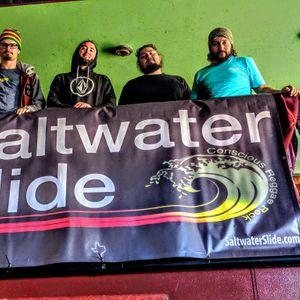 Saltwater slide