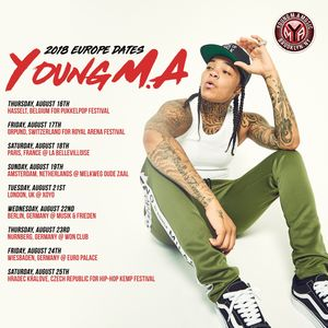 Bandsintown   Young M A Tickets - Won Club, Aug 23, 2018
