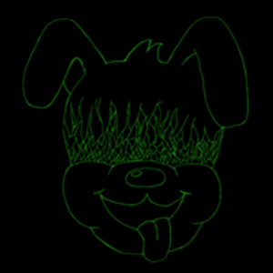 Grunge Puppy