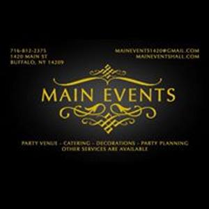 Main Events Banquet Hall