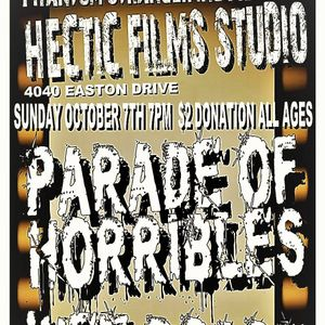 Bandsintown | Parade of Horribles Tickets - Hectic Films
