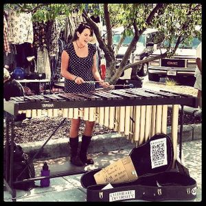 Aly the Traveling Marimba Busker