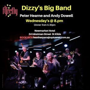 Peter Hearne with The Dizzy's Big Band