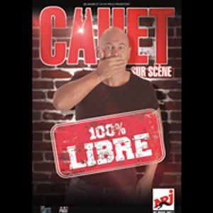 """Cauet """"100 % libre""""  nouveau one man en tournée"""