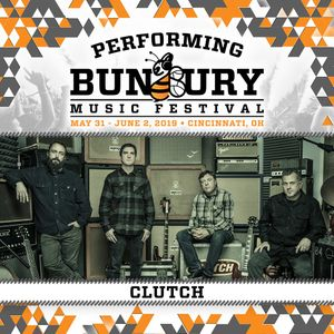 Bandsintown | Clutch Tickets - Bunbury Festival, Jun 02, 2019