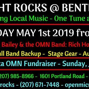 Open Mic NIght Rocks at Bentley's Saloon