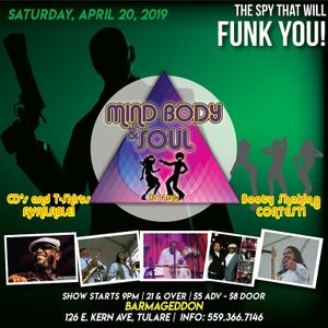 MIND BODY & SOUL FT DR.FUNK
