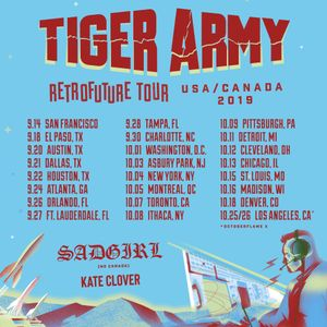 Bandsintown Tiger Army Tickets Culture Room Sep 27 2019