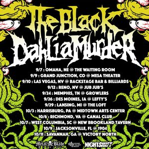 Bandsintown The Black Dahlia Murder Tickets 1904 Music